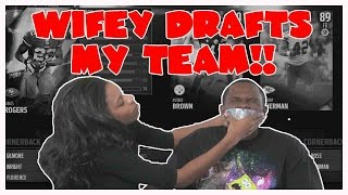 getlinkyoutube.com-LETTING MY WIFE DRAFT MY TEAM!! - Madden 16 Ranked Draft Champions