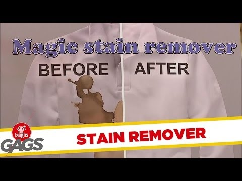 Magic Stain Remover PRANK - UniqueDaily.com