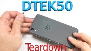 DTEK50 Teardown - Cute Charging Port - BlackBerry Screen replacement