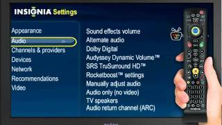 audio setup guide insignia connected tv youtube rh youtube com Insignia TV Problems Insignia TV Base Replacement
