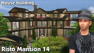 getlinkyoutube.com-The Sims 4: House Building - Risto Mansion 14