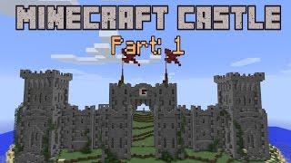 getlinkyoutube.com-Building a Minecraft Castle - Part 1