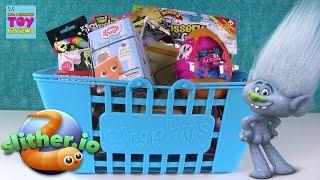 Slitherio Roblox Disney Trolls Shopkins Big Blue Basket Of Blind Bags | PSToyReviews