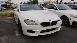 getlinkyoutube.com-Short Ride In A BMW F13 M6 Competition Package!