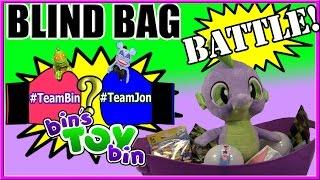 getlinkyoutube.com-Blind Bag Battle #2! Team Bin Vs. Team Jon - Sonic, Home, Trolls & More! by Bin's Toy Bin