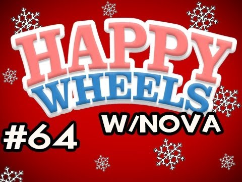 Happy Wheels HOLIDAY MARATHON w/Nova Ep.64 - Christmas City
