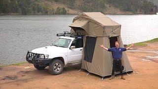 getlinkyoutube.com-How to set up a Kings Roof Top Tent