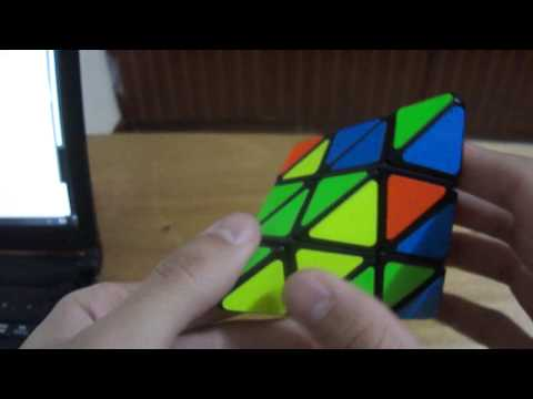 Tutorial Pyraminx - Keyhole Method - Example Solves