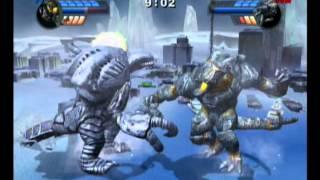 getlinkyoutube.com-Godzilla: Unleashed #3 - Obsidious vs Orga