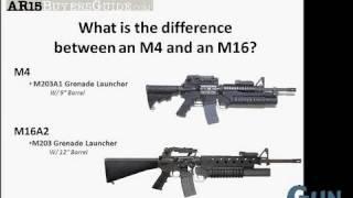 getlinkyoutube.com-M-4 Carbine vs. M-16