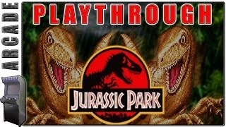 getlinkyoutube.com-Jurassic Park | Arcade | Longplay / Playthrough