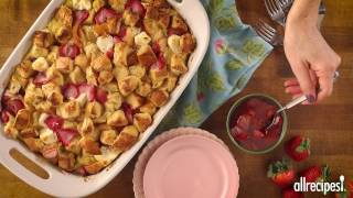 Breakfast Recipes - How to Make Strawberry Cream Cheese French Toast