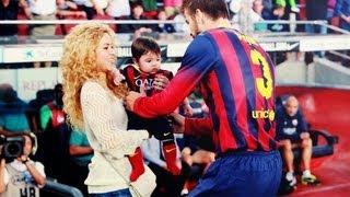 getlinkyoutube.com-Shakira y Milan apoyan a Pique (las mejores imagenes)