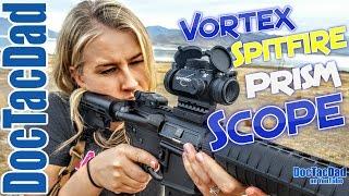 getlinkyoutube.com-Great Tactical Scope!!! Vortex Spitfire 1x Prism Scope Review