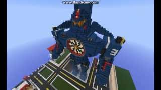 Minecraft Pacific Rim Gipsy Danger
