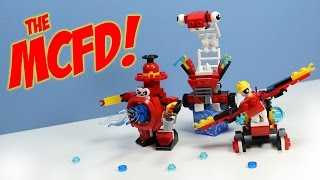 getlinkyoutube.com-LEGO Mixels Series 8 MCFD Splasho Aquad & Hydro Max? Opening Review