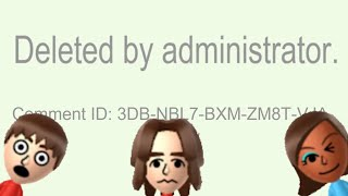 A Typical Miiverse Relationship 15 - Deleted by Administrator