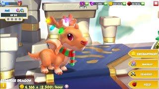 getlinkyoutube.com-[Christmas] Welcome Reindeer Dragon - Dragon Mania Legends