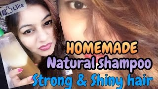 Homemade Natural Protein shampoo - Strong Hair |  DIY Keratin Shampoo at home