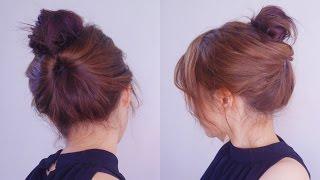 getlinkyoutube.com-超快速簡易優雅法式包頭 Easy French Twist Hairstyle