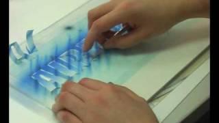 getlinkyoutube.com-Airbrush Anleitung Metallic Schriftzug & Airbrush Tipps