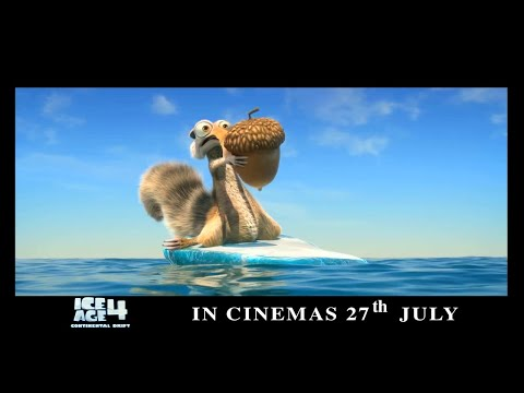 Ice Age 4 Continental Drift - New Trailer -vaV8Xj0bo-A