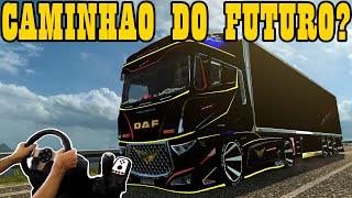 getlinkyoutube.com-CAMINHÃO DO FUTURO ? -  EURO TRUCK SIMULATOR 2, JOGANDO COM O VOLANTE G27!!!