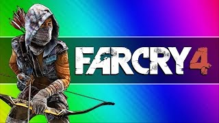 getlinkyoutube.com-Far Cry 4 Funny Moments #3 - Gyrocopter Grappling, Headless Glitch, Repair Tool Fun!