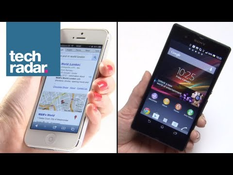 Sony Xperia Z vs iPhone 5: Specs