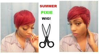 getlinkyoutube.com-HOW TO MAKE A SUMMER PIXIE WIG!!
