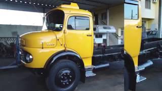 Restauração Mercedes Benz 1113