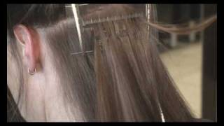 getlinkyoutube.com-Great Lengths Hair Extensions Ultrasonic Wedding Makeover How to