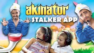 getlinkyoutube.com-Akinator Knows Everything! STALKER APP COMES TO LIFE! Creepy GURU Fun! (FGTEEV GAMEPLAY / SKIT)