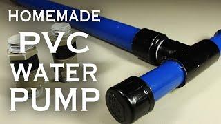 getlinkyoutube.com-How To Make A PVC Pump!