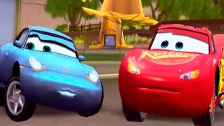 getlinkyoutube.com-CARS - Sally's Sunshine Circuit | Disney / Pixar | Movie Game | Walkthrough #11 | *PC GAME*