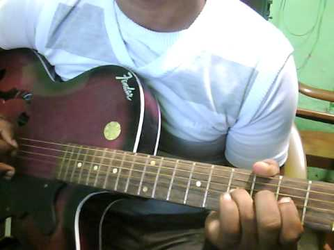 Teri Meri From Bodyguard Guitar Lead Lesson ( By Noor Ahmad )