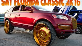 Florida Classic Weekend 2k16 Sat night in HD (big rims, classic cars, loud music, and lifted trucks)