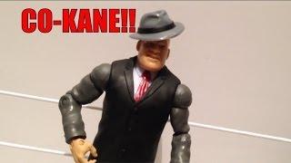 getlinkyoutube.com-CO-KANE!!! NEW custom Kane WWE Mattel elite wrestling build a figure in a SUIT