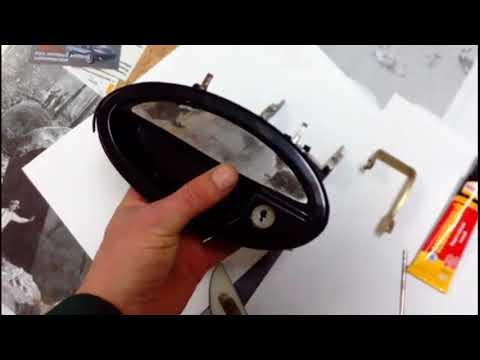 Изготовление металлической ручки двери на машину.