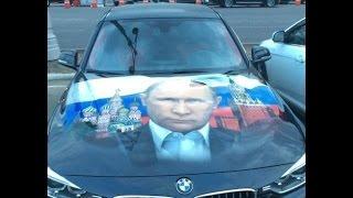 getlinkyoutube.com-Реакция ДПС на Путина, пусть даже на капоте.