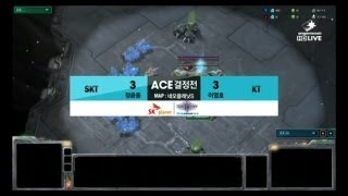 getlinkyoutube.com-스타크래프트2 프로리그  [04.06] 정윤종(SKT) vs 이영호(KT) 7SET / 네오플래닛S - Starcraft 2,esportstv, SPL