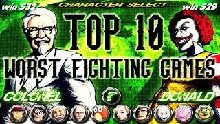 getlinkyoutube.com-Top 10 Worst Fighting Games
