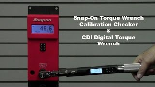getlinkyoutube.com-CDI Digital Computorq SG & Snap-On Torque Wrench Calibration Checker  | Robb Precision Tool Services