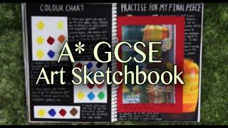 getlinkyoutube.com-A* GCSE Art Sketchbook