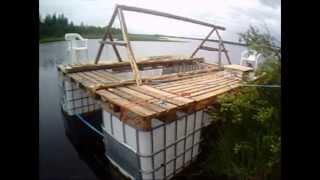 getlinkyoutube.com-Lautta kelkan nostoon Ferry snowmobile lifting