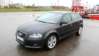 getlinkyoutube.com-2009 Audi A3 Sportback (8P). Start Up, Engine, and In Depth Tour.