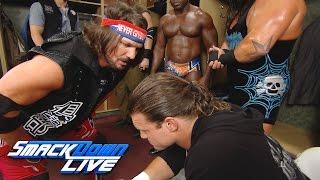 getlinkyoutube.com-Dolph Ziggler attacks a loudmouth AJ Styles backstage: SmackDown Live, Aug. 23, 2016