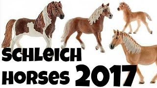 getlinkyoutube.com-NEW SCHLEICH HORSES 2017!!!!! | horzielover