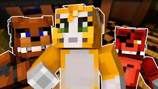 getlinkyoutube.com-Stampy Cat Goes Into Five Nights At Freddy's (Night 1)  - Minecraft Roleplay