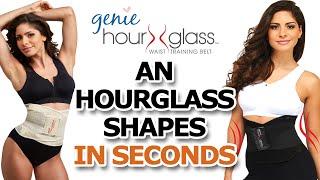 getlinkyoutube.com-Genie Hourglass WAIST TRAINING BELT